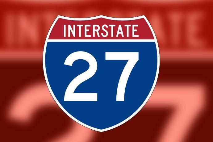 Interstate 27 I-27 shield logo 690_2526484684017387076-54787063