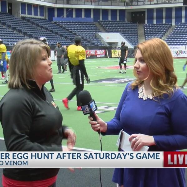 Amarillo Venom to host free Easter egg hunt