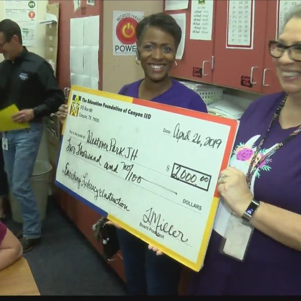 Canyon ISD Education Foundation gives grants to schools in the area