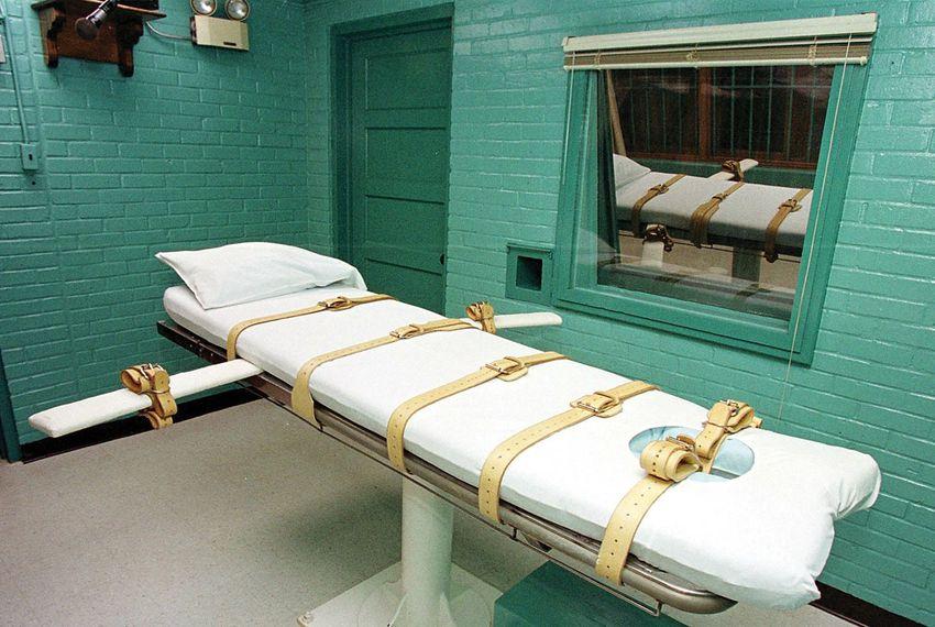 Texas' execution chamber
