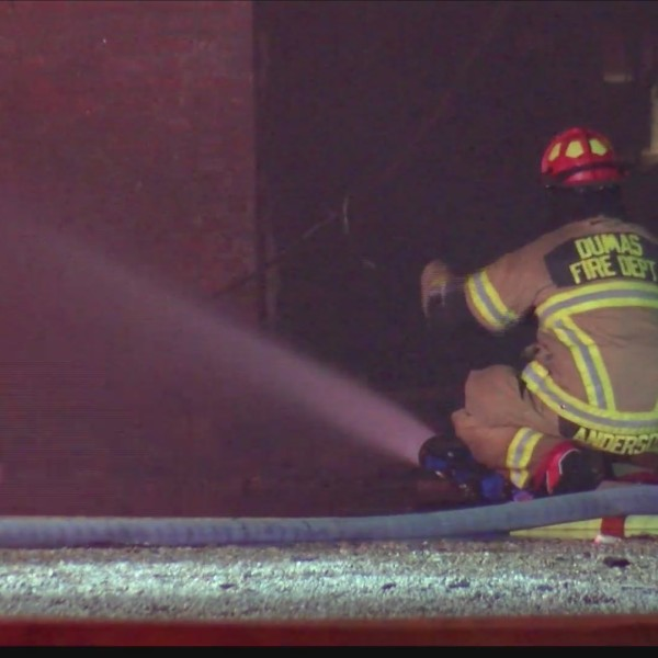 Dumas Fire Department to demolish burned building ahead of strong winds