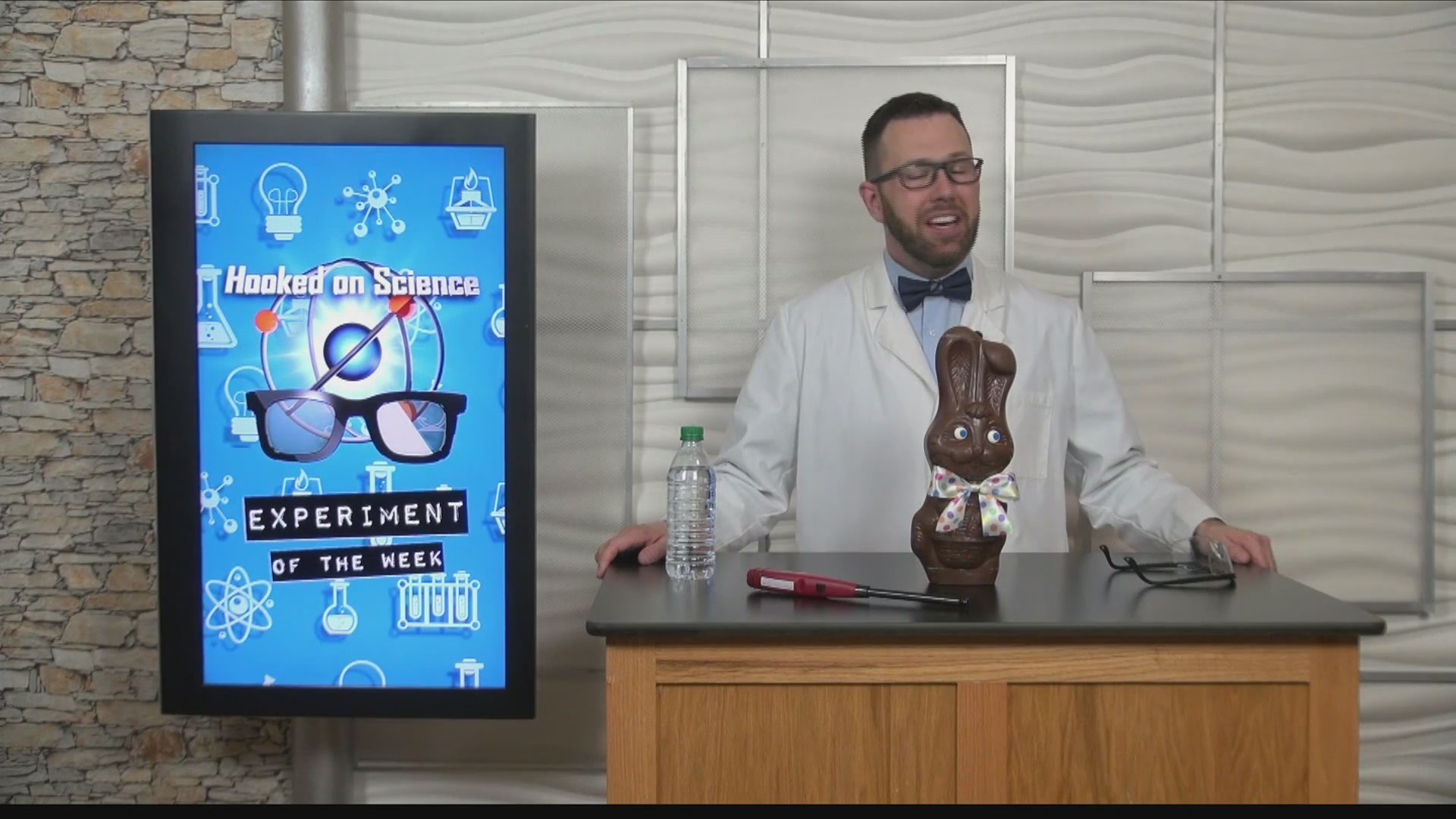 Hooked on Science: Blowing up chocolate bunnies