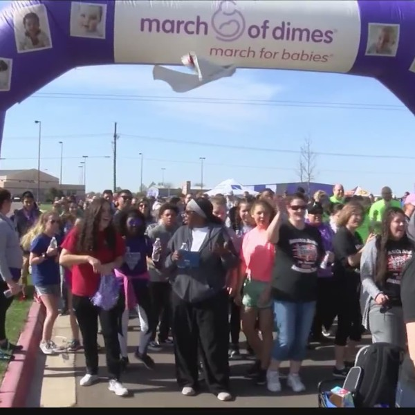 March for Babies walk happening tomorrow