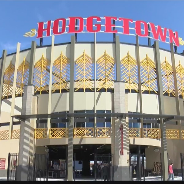 Sod Poodles' home opener at Hodgetown