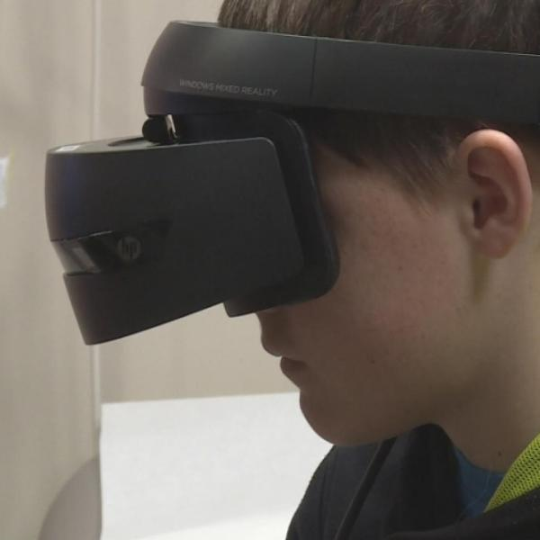 Virtual Reality Eases Cancer Care