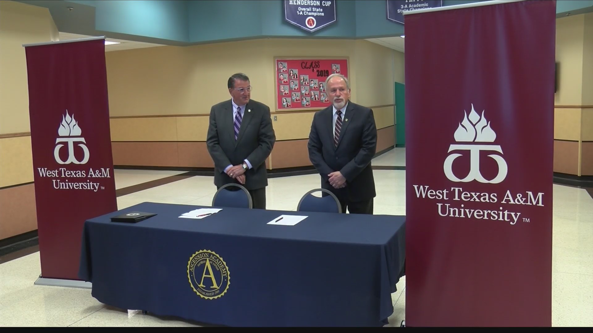 All Ascension Academy graduates will be accepted to WT through new agreement