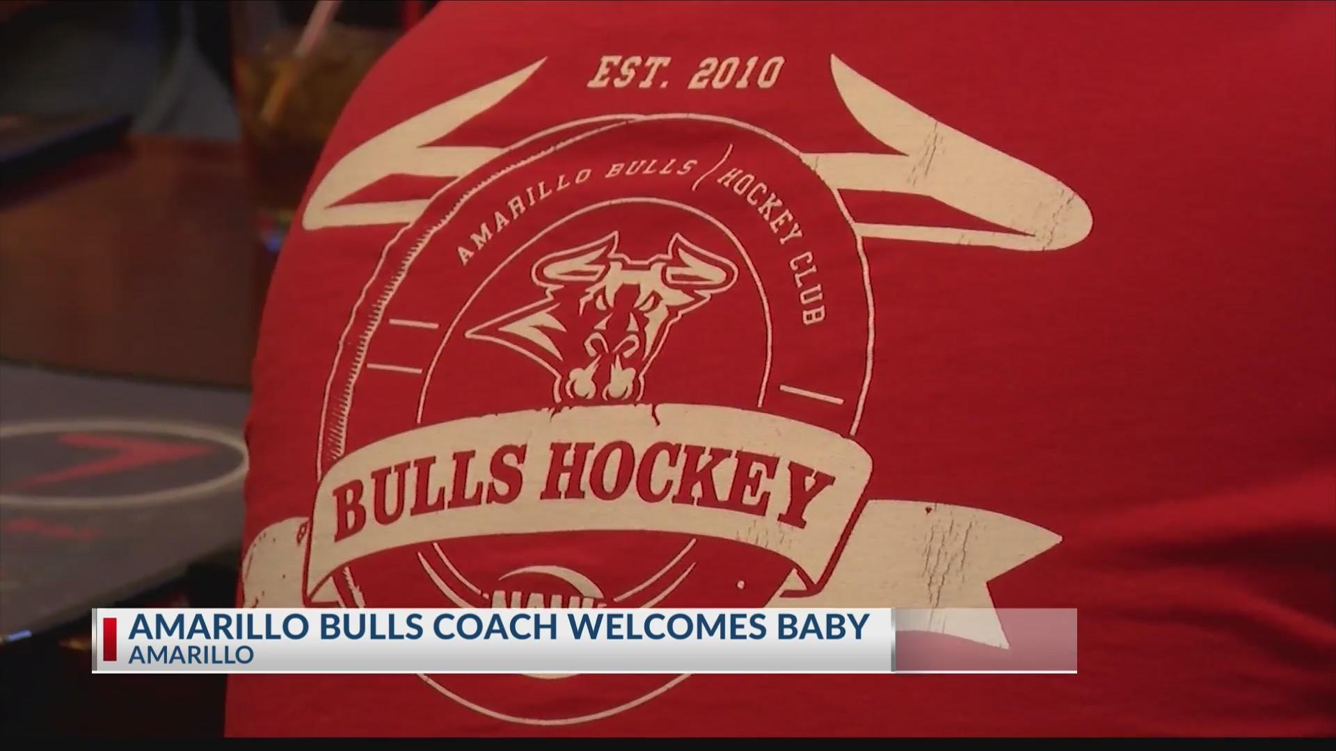 Amarillo Bulls coach welcomes baby
