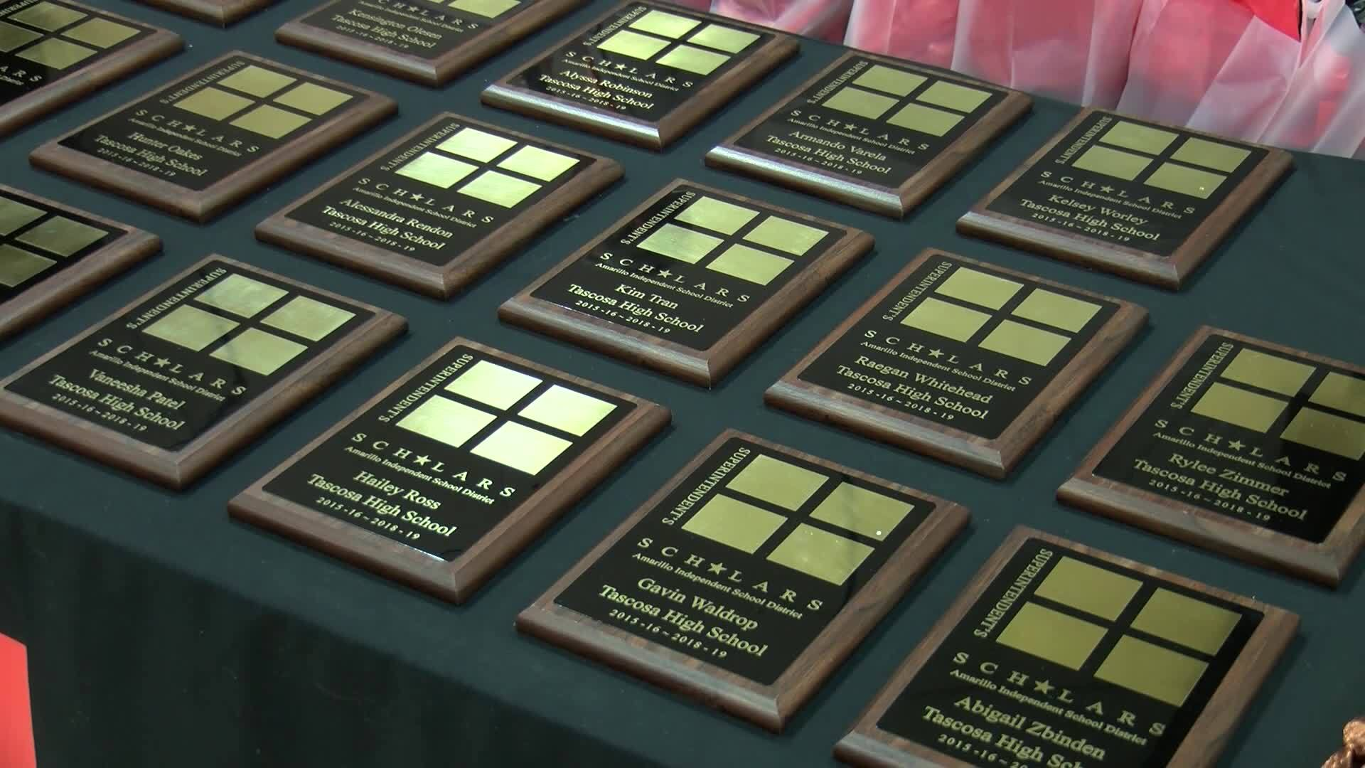 Amarillo ISD honors students who receive Superintendent's Scholar Distinction