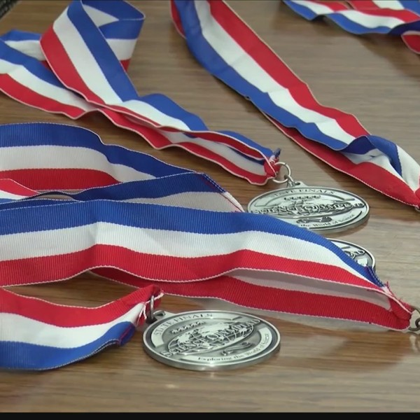 Bonham Middle School students win third place at State Science Olympiad