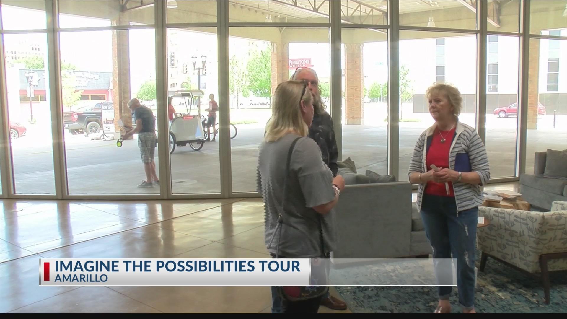 "Center City Amarillo hosts ""Imagine the Possibilities"" tour"