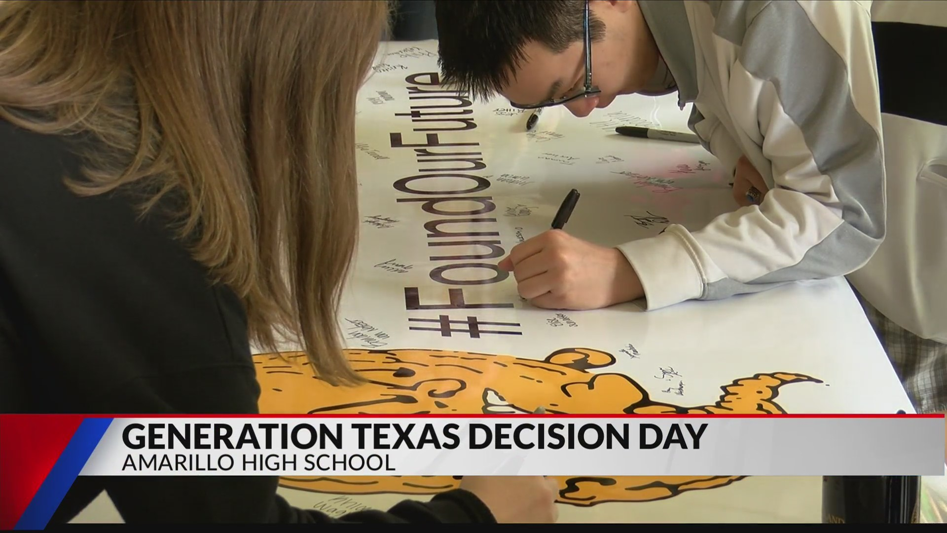 Generation Texas Decision Day Senior Celebration