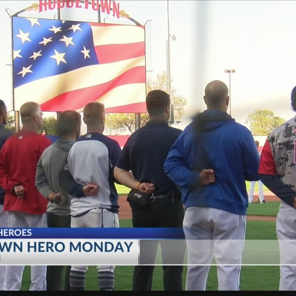 Hometown Hero Monday at Hodgetown