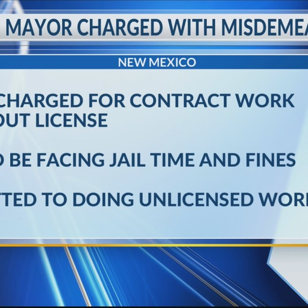 Logan mayor facing charges