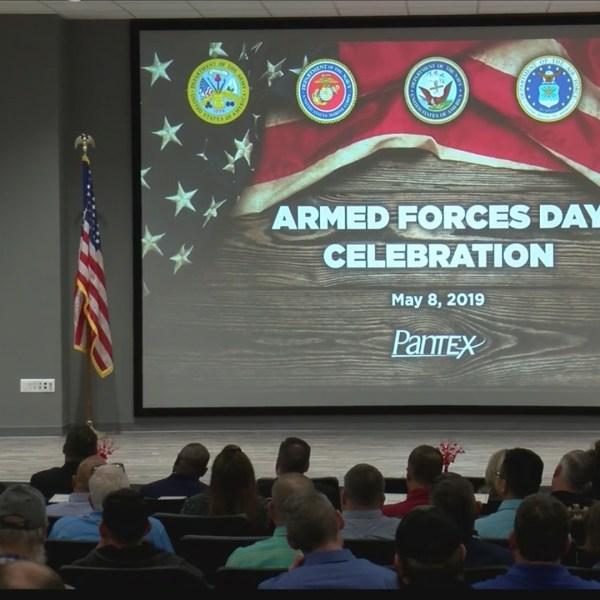 Pantex honoring those who serve