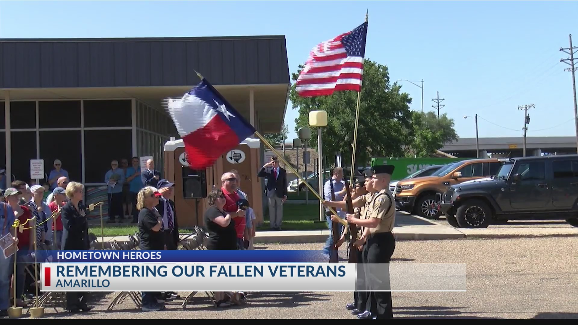 Texas Panhandle War Memorial honors fallen veterans with ceremony