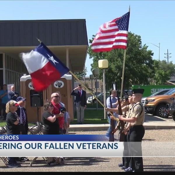 Texas Panhandle War Memorial honors fallen veterans with ceremony