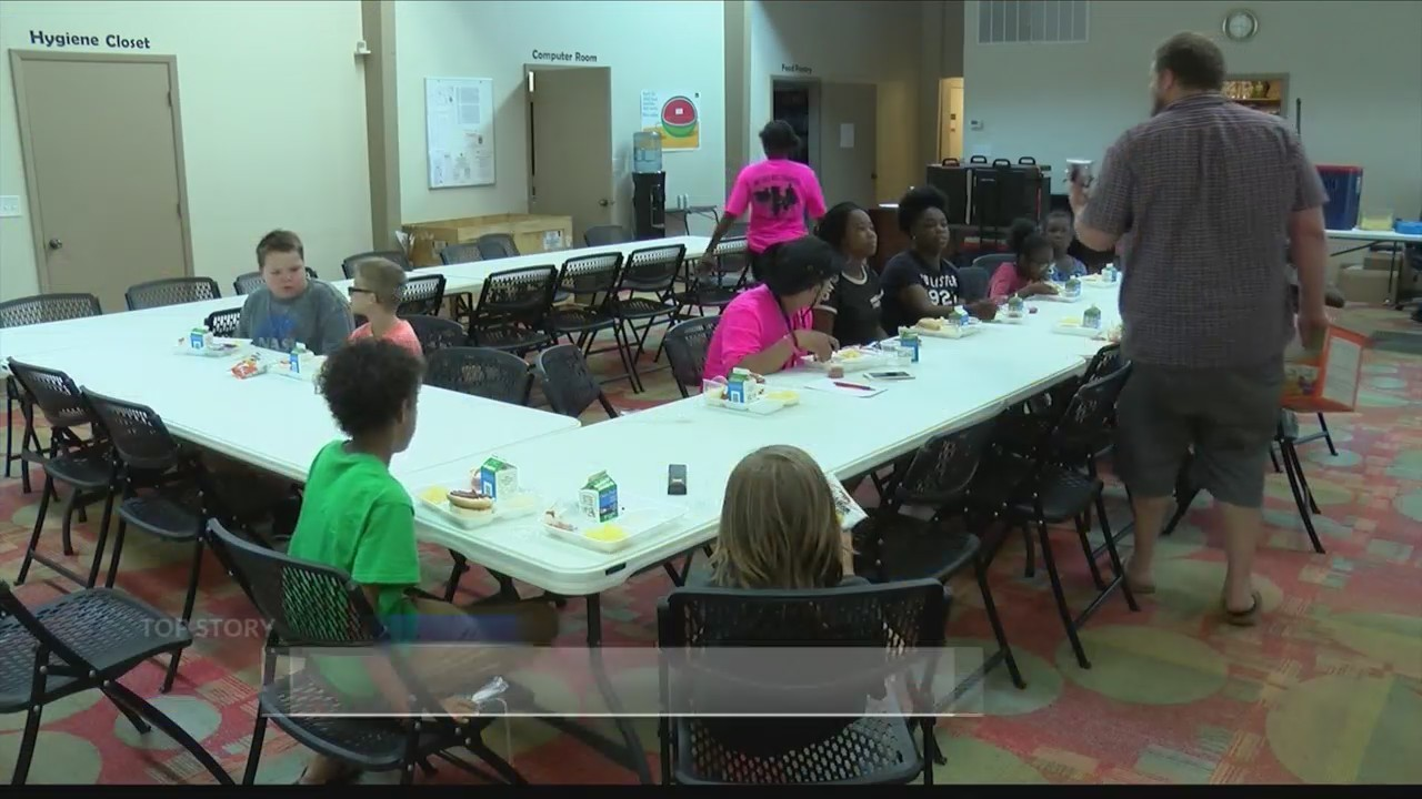 ACTS Community Center feeding kids this summer with Kids Cafe