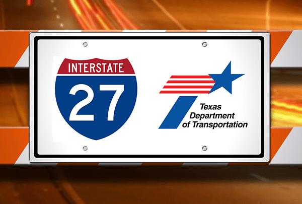 Interstate 27 Road Work, TxDOT - 720-54787063