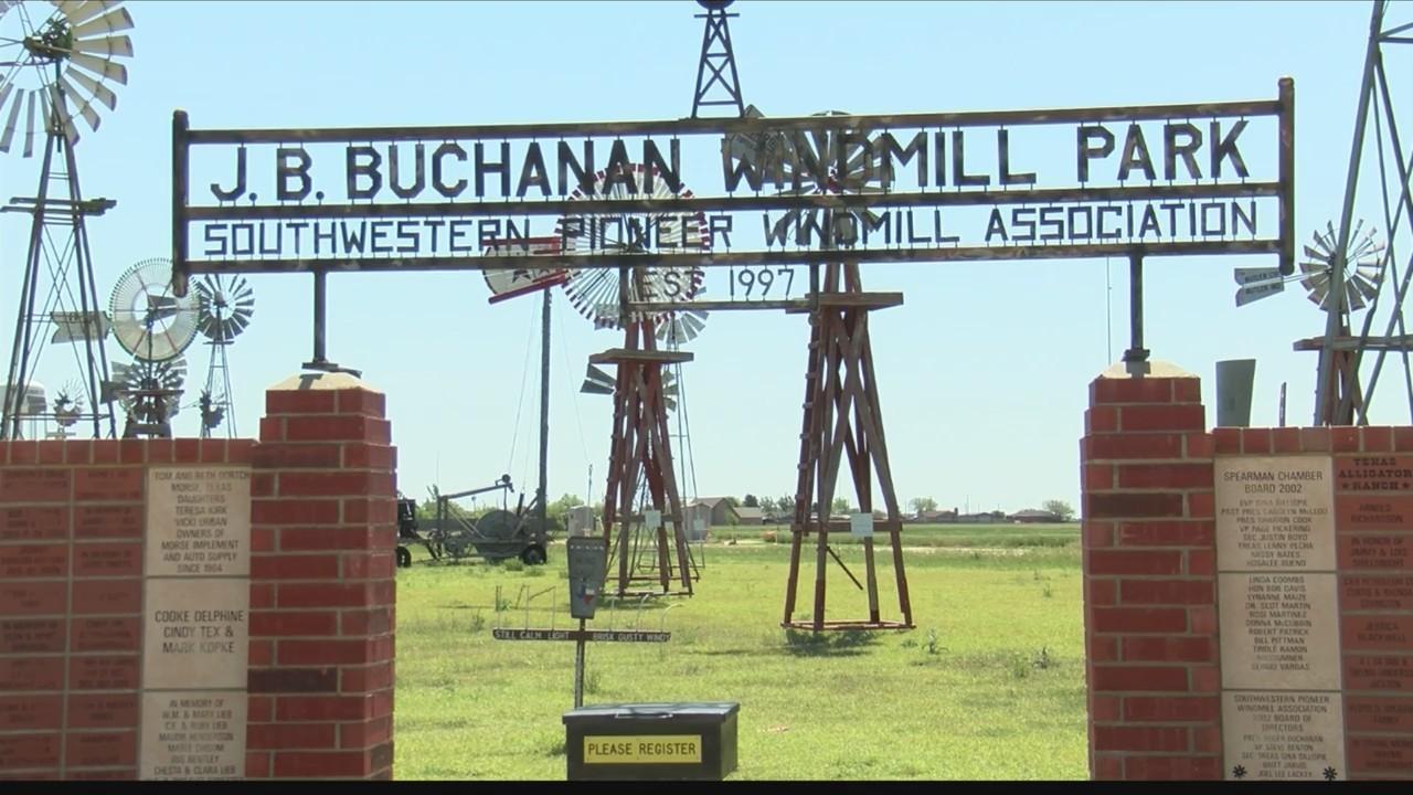 J.B. Buchanan Windmill Park in Spearman