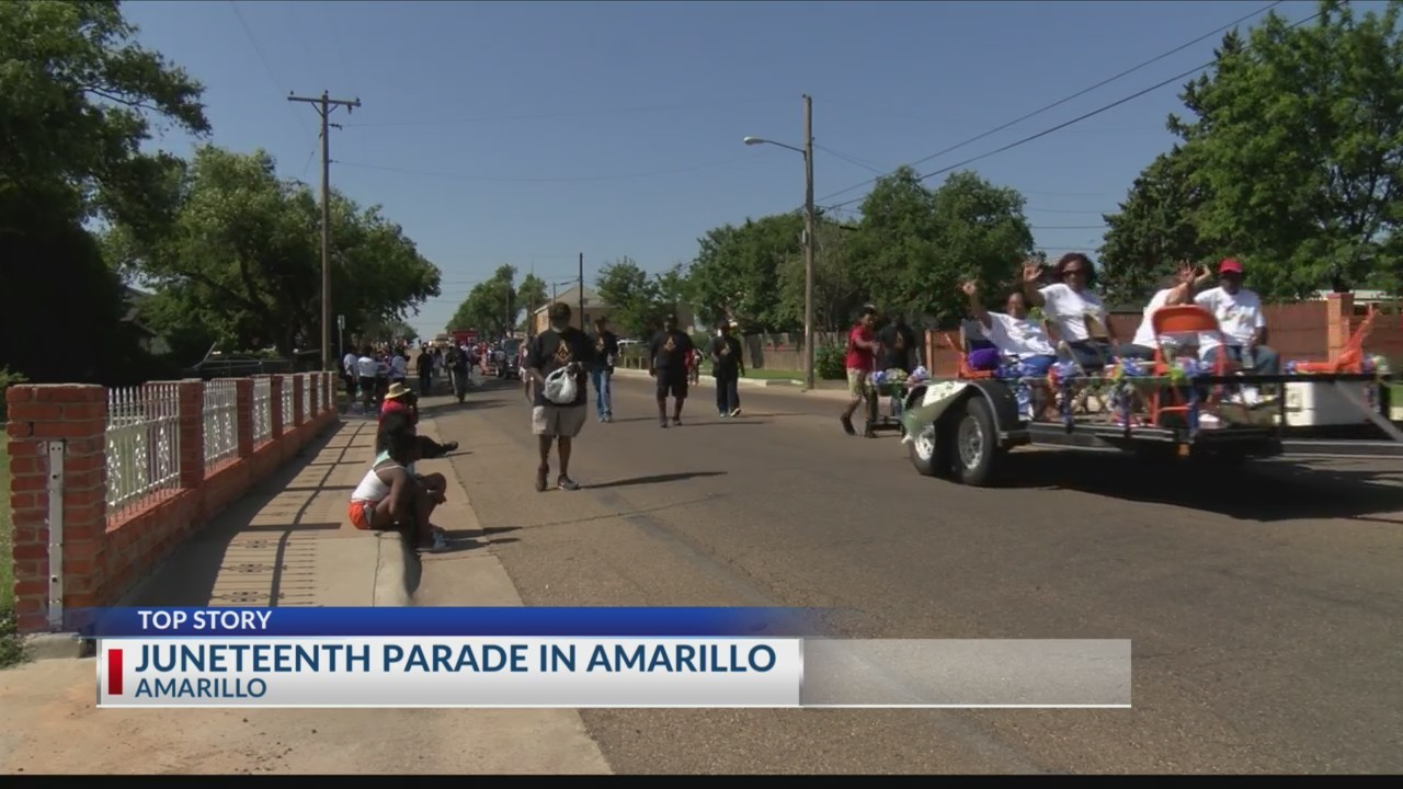 Juneteenth Parade in Amarillo