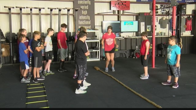 Local CrossFit gym helping kids keep active and healthy this summer
