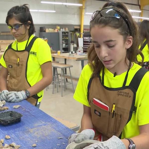 New Texas camp encourages girls to consider construction careers