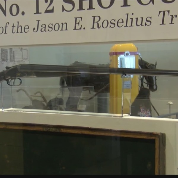 Theodore Roosevelt Shotgun on display at Panhandle-Plains Historical Museum