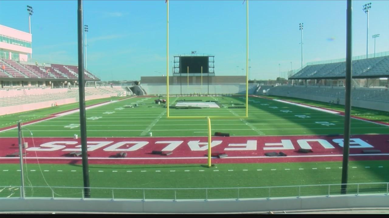 west texas a u0026m u2019s buffalo stadium construction update