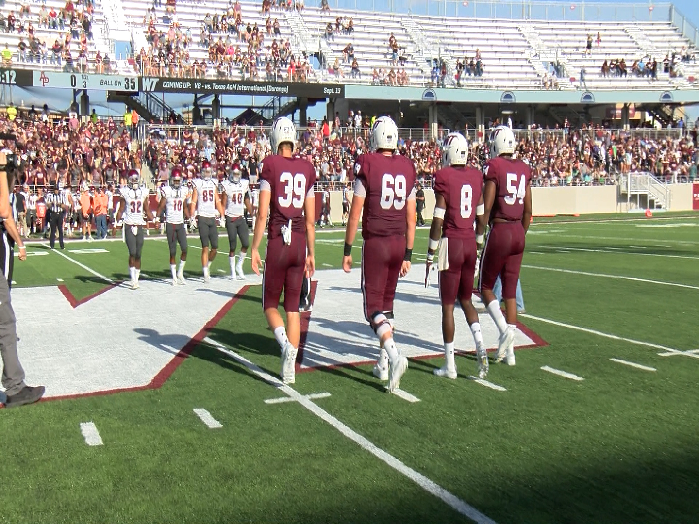 West Texas A&M Football opens Buffalo Stadium with a win