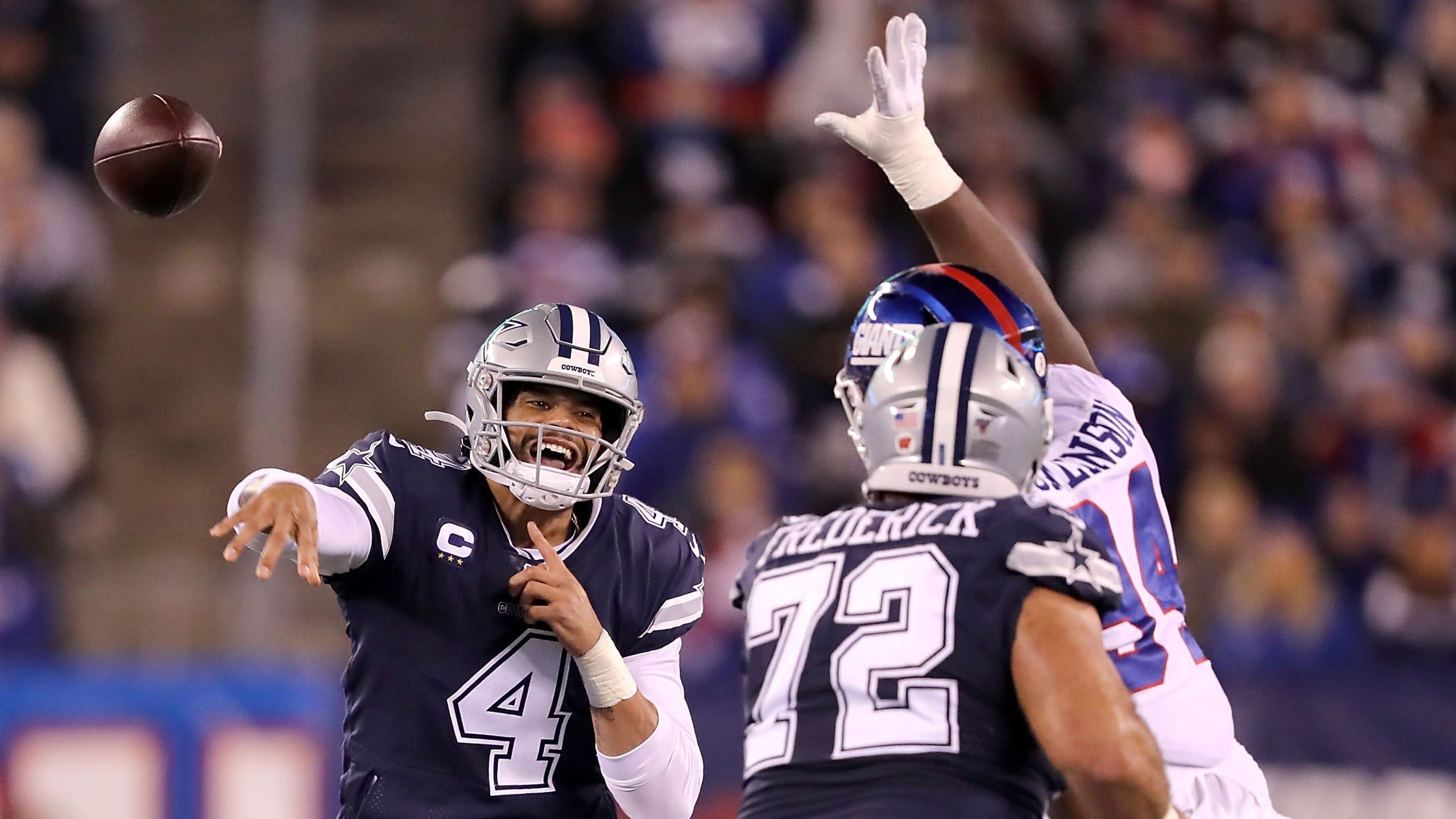 Cowboys Dominate Giants On Monday Night Football After Black
