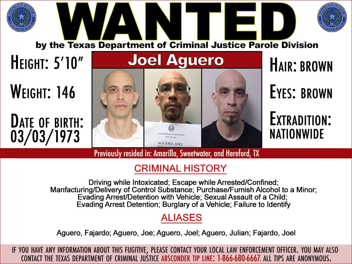 TDCJ looking for Parole Violator from Amarillo area | KAMR