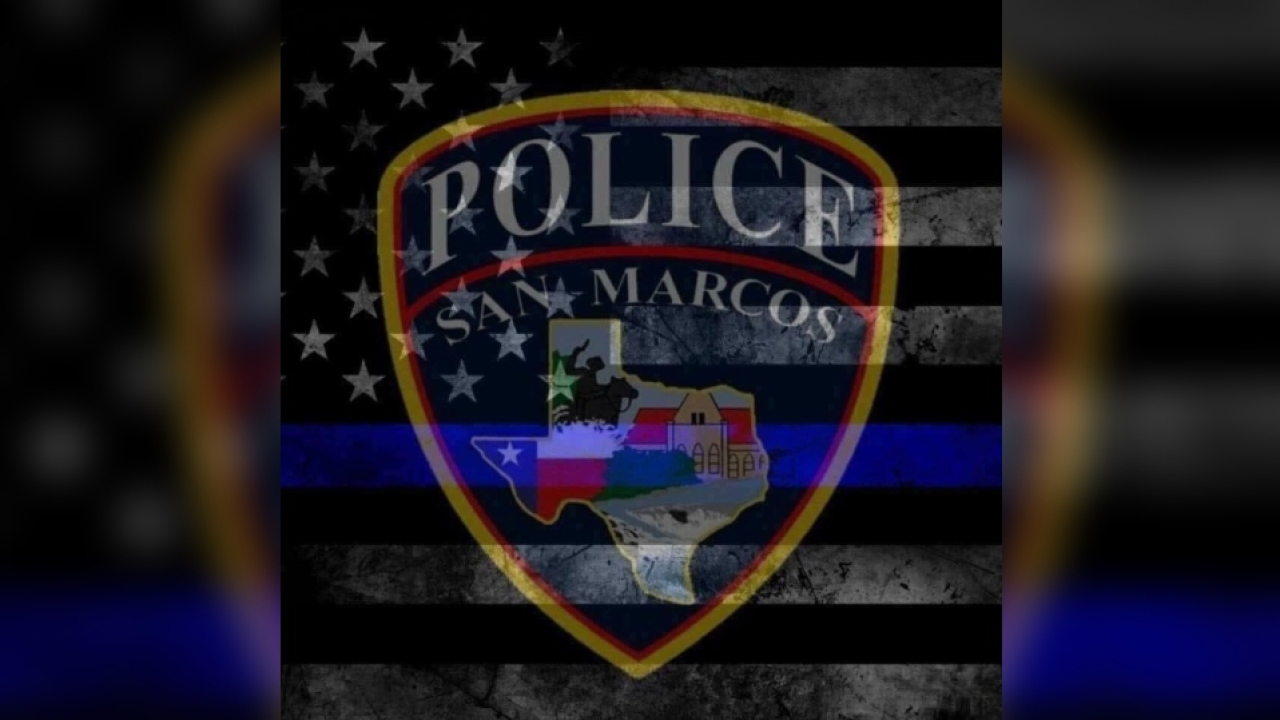 Support Pours In For San Marcos Police Officer Killed