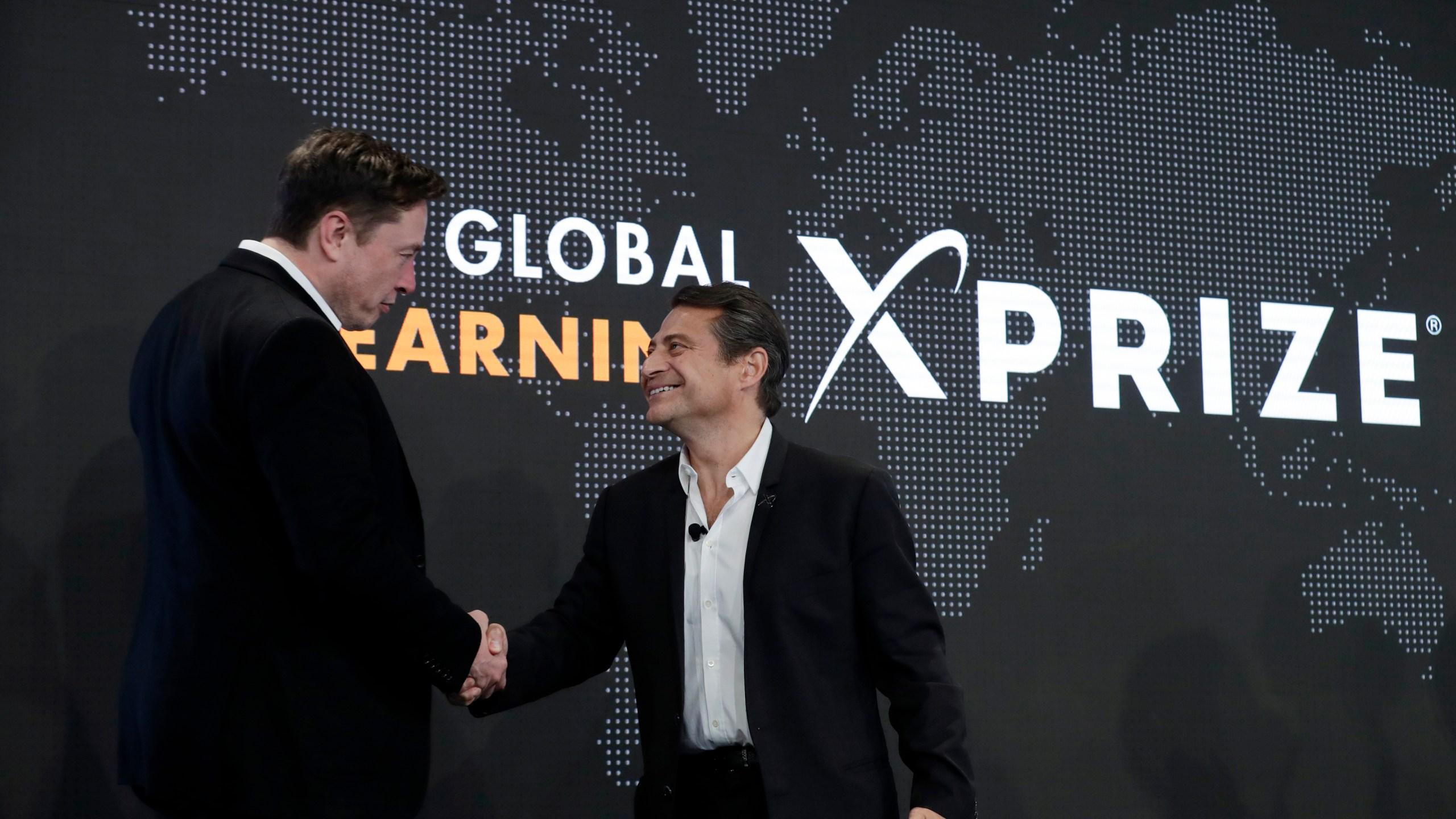 Peter Diamandis, Elon Musk